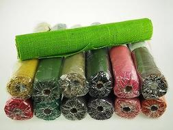 Real Natural Jute Hemp Burlap Rolls Color Gift Wrap Overlay