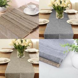 Rectangle Burlap Tablecloth Table Cover For Wedding Party De