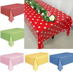 Rectangle Dots Tablecloths For Wedding Party Banquet Events
