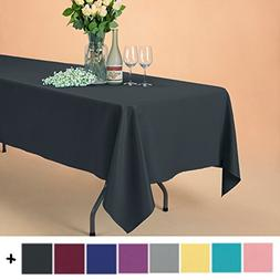 rectangle polyester tablecloth table cover