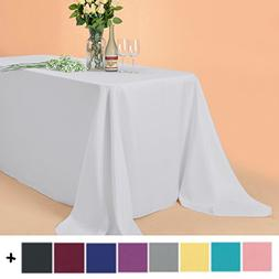 Remedios 90 x 132-inch Rectangle Polyester Tablecloth Table