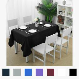 Rectangle Table Cover Cloth Wedding Party Banquet Events Pol