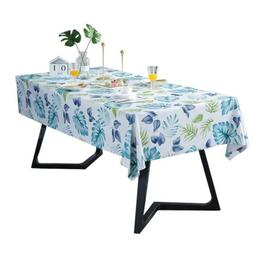 Rectangle Tablecloth Dustproof Table Cover Outdoor Table Lin