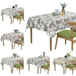 Rectangle Tablecloth Modern Style Table Linen Fashion Picnic