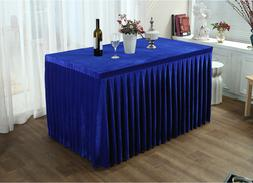 Rectangle Tablecloth Skirt Covers for Restaurant Wedding Ban