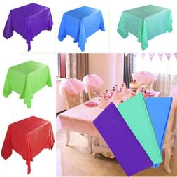 Rectangle Tablecloth Table Cover fit Wedding Banquet Party R