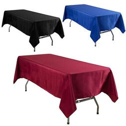 Rectangle Tablecloth Table Covers for Wedding Party Restaura