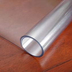 Rectangular Tablecloth Soft Glass PVC Tablecloth Transparent