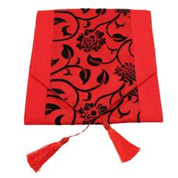 Red Flower Table Cover Tablecloth Flower Blossom Kitchen Din