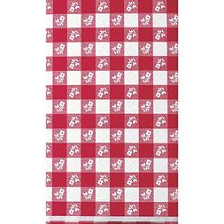 Creative Converting 12-Count Red Gingham Stay Put Plastic Ba