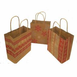 Fun Express Red White Nordic Print Craft Bags 1 Dozen Bags