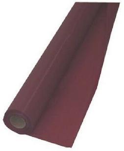 "rolls Creative Converting 763122 40"" x 100' Burgundy Plasti"