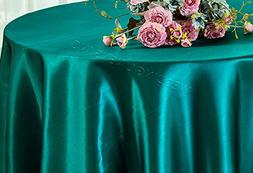 "Wedding Linens Inc. 120"" Round Heavy Duty Seamless satin tab"