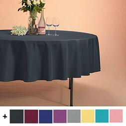 Remedios 70-inch Round Polyester Tablecloth Table Cover - We