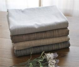 FUYA Rustic Fabric Fashion Solid Color Linen <font><b>Table<