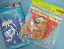 Scooby-Do Kids Child Happy Birthday Celebration Banner & Blu