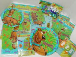 Scooby Doo Birthday Party Plates Napkins Table Cover Decorat
