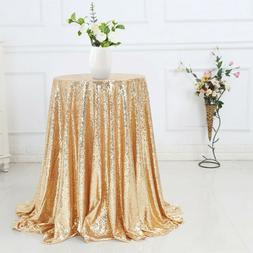 Sequin Sparkly Tablecloth Glitter Wedding Party Banquet Xmas