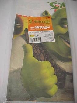 SHREK 2 Birthday Fiona Donkey Paper Table Cover 54' x 89 1/4
