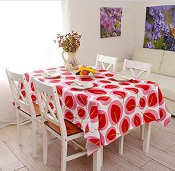 Simple household thickened rectangular tablecloth , 145x220