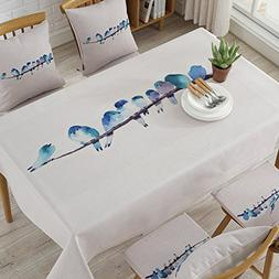 Simple Thick Fabric Cotton Small Fresh Table Cloth Home Livi