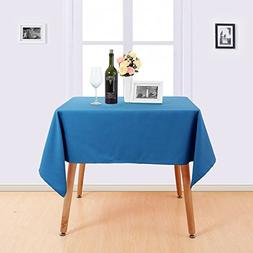 Deconovo Solid Oblonge Table Cloth Oxford Table Cover Water