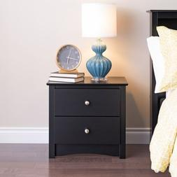 Prepac Sonoma 2 Drawer Nightstand - BDC-2422