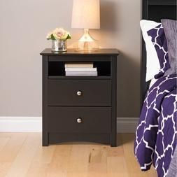 Prepac Sonoma2 Drawer Nightstand - BDC-2428