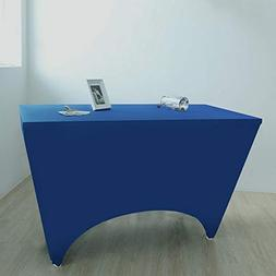 GFCC Spandex Fitted Stretchable Elastic Table Covers Stretch