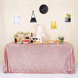 Sparkle Sequin Tablecloth for Wedding Party Banquet Rectangl