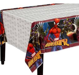 Spider Man Webbed Wonder Plastic Table Cover ~ Boys Birthday
