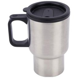 WHOLESALE Lot of 12 Stainless Steel Travel Mug 14oz with Tap