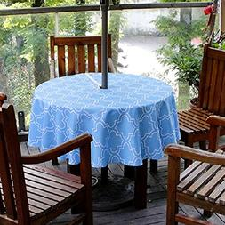 Eforgift No Stains Water Free Polyester Umbrella Table Cover