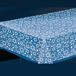 Amscan Star of David Clear Table Cover