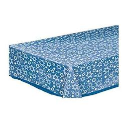 Amscan Star of David Clear Plastic Table Cover - Party Suppl