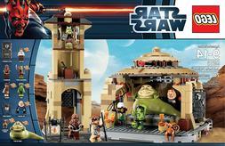 LEGO STAR WARS JABBA'S PALACE  NEW NISB - RETIRED SET - RE