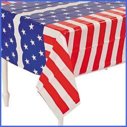 Stars & Stripes Table Cover 1 Pc FREE SHIPPING