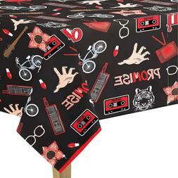 STRANGER THINGS PAPER TABLE COVER ~ Birthday Party Supplies