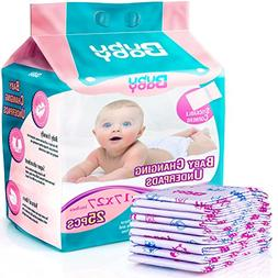Super Absorbent Disposable Changing Pads with Stickable Corn