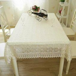 Table Cloth European Lace Cloth Coffee Table Cover For Table