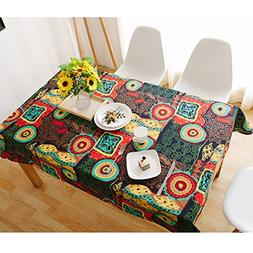 Table Cover, Lemon Hour Rectangle Dining Room Modern Tablecl