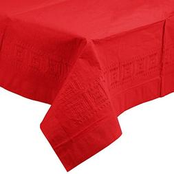 Perfectware Table Covers Red-3 Disposable Table Covers Red 2