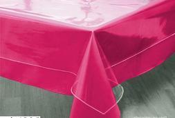 Tablecloth Clear Plastic Waterproof Transparent Heavy Duty D