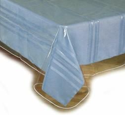 Tablecloth Heavy Duty Plastic Clear Vinyl Table Cover Spills