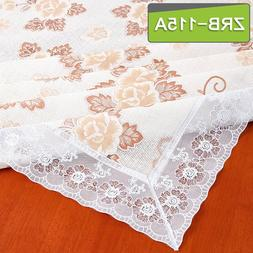 Tablecloth PVC & Cotton Linen <font><b>Table</b></font> Clot