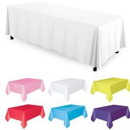 "Tablecloth Table Cover Rectangular Wedding Party 5PCS 30X96"""