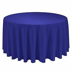 "Gee Di Moda Tablecloth - 108"" Inch Round Tablecloths for Cir"