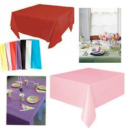 Tablecover Disposable Plastic Table Cover Party Banquet  Bir