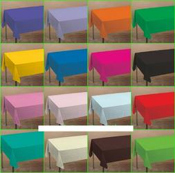 Tablecover Tablecloth Red Blue Yellow Green Purple Pink Lave