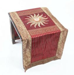 Tapestry Table Cover Runner Brocade Silk Cloth